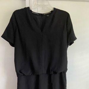 Maison Scotch chiffon little black dress